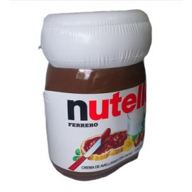 Nutella mini inflable