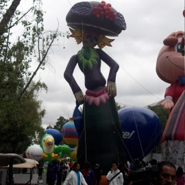 Globo Gigante para Desfiles La Catrina