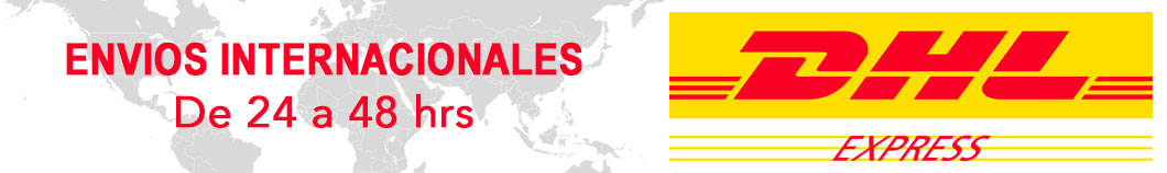 Envios internacionales de 24 a 48 hrs - DHL